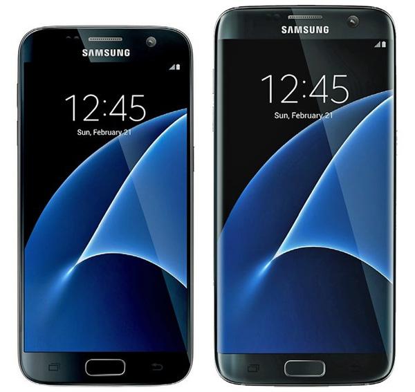 Samsung Galaxy S7 та Galaxy S7 edge