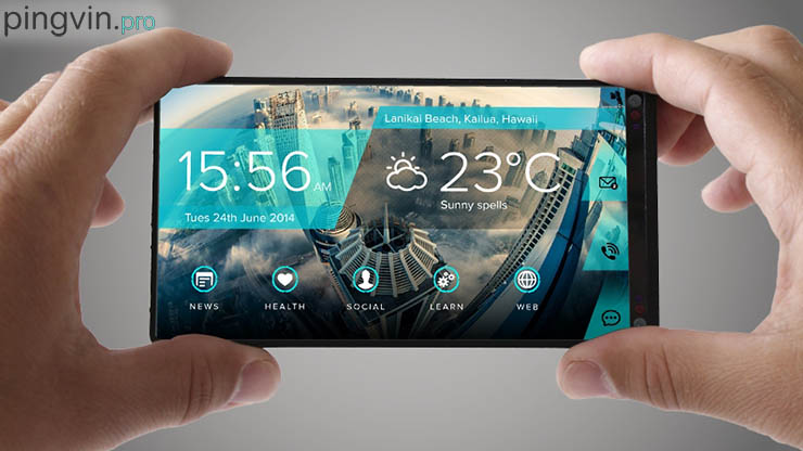Future phone майбутній смартфон