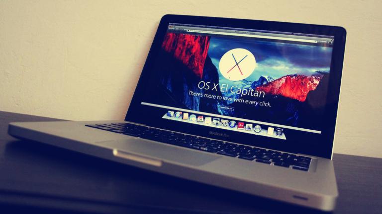 OS X El Capitan macbook