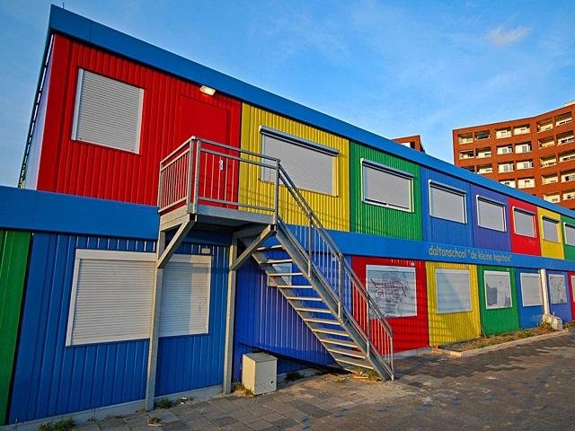 Перевозная школа в Нидерландах