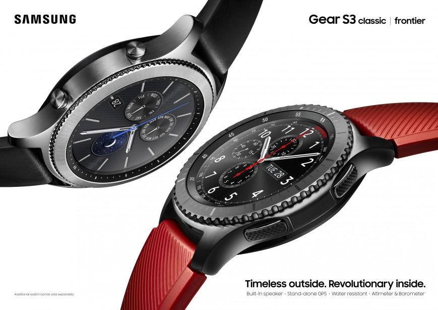 Анонсовано розумний годинник Samsung Gear S3 Classic та Gear S3 ... 6f229f7900b43