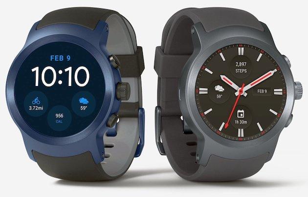Розумний годинник LG Watch Sport
