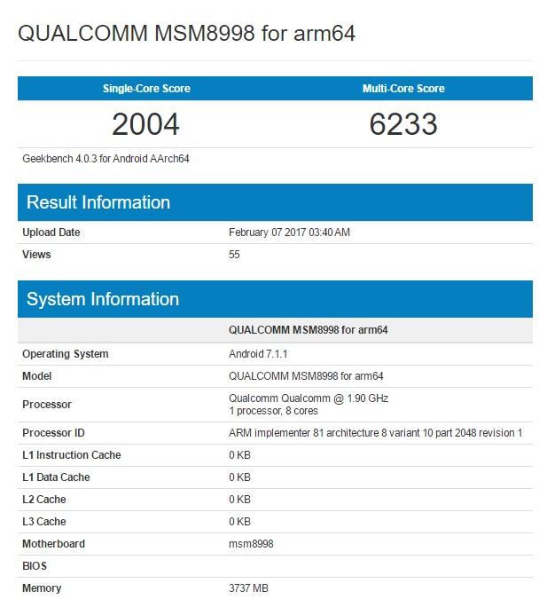 Qualcomm Snapdragon 835