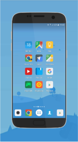 Android іконки - MIUI 8