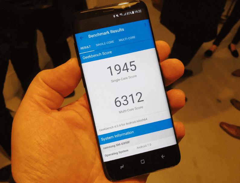 Samsung Galaxy S8 (Exynos 9)