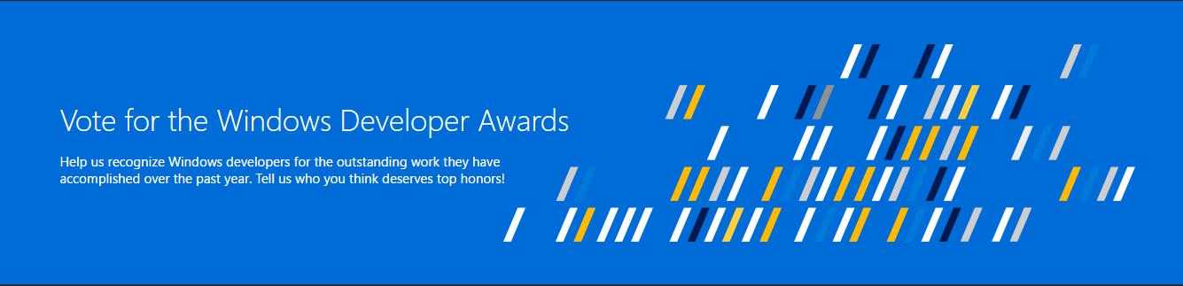 Windows Developer Awards