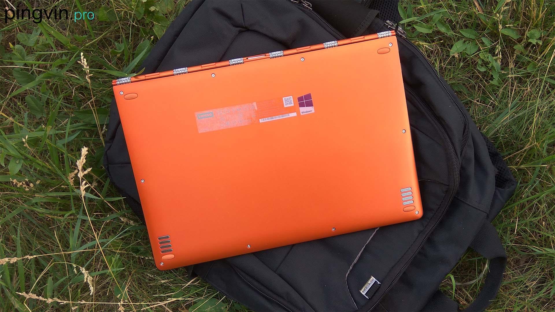 Lenovo Yoga 900 - нижня частина ноутбука