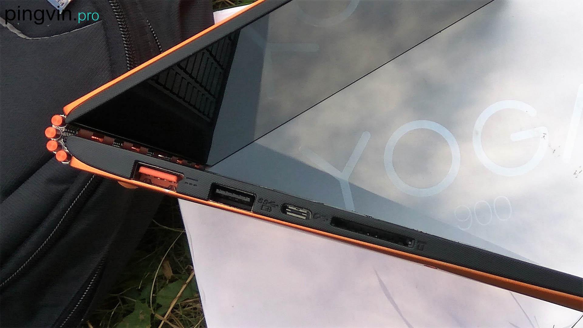 Lenovo Yoga 900 - лівий бік