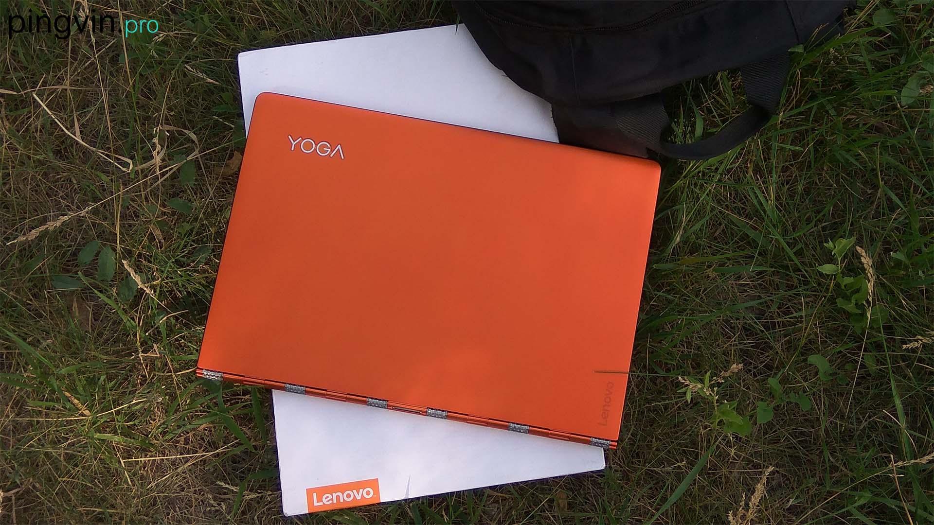 Lenovo Yoga 900 - Вид з верху