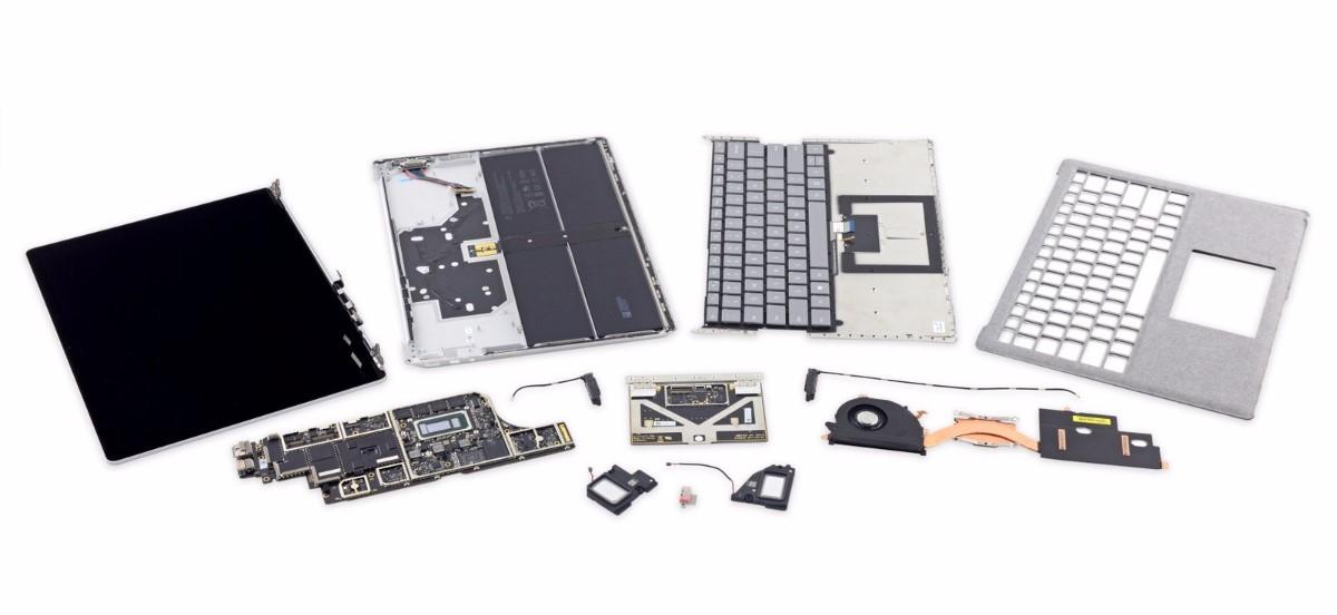 iFixit: Surface Laptop