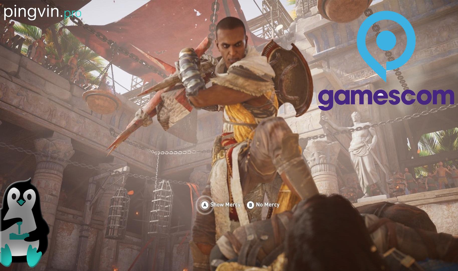 Assassin's Creed: Origins Xbox One X Gamescom