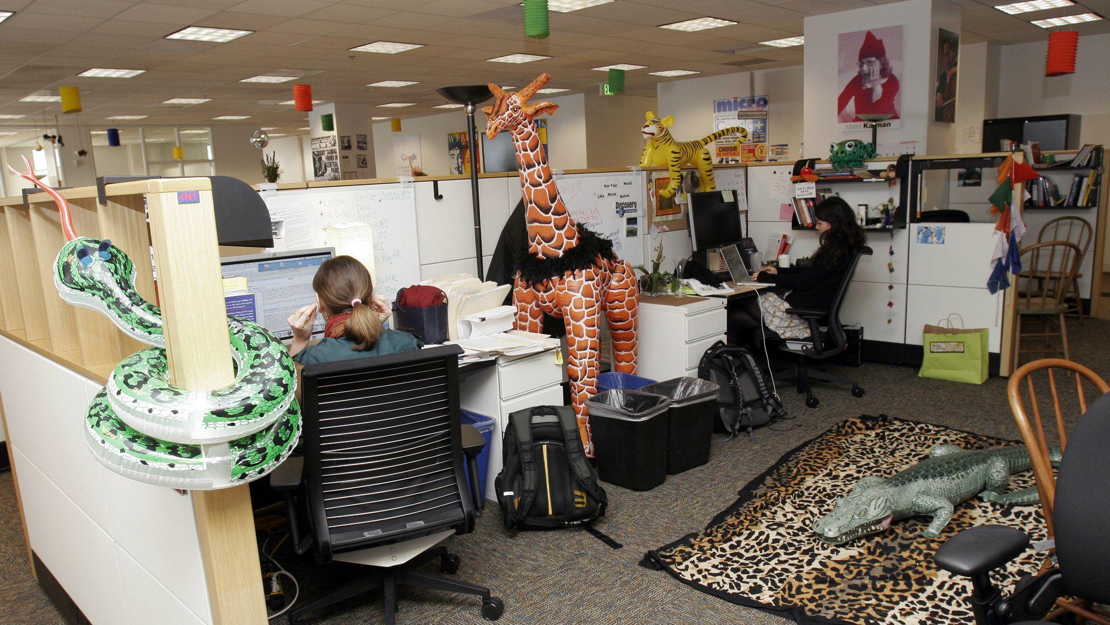 Звичайний робочий день працівників Google