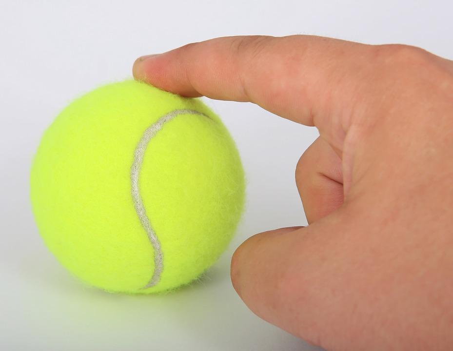 Тенісний м'ячик