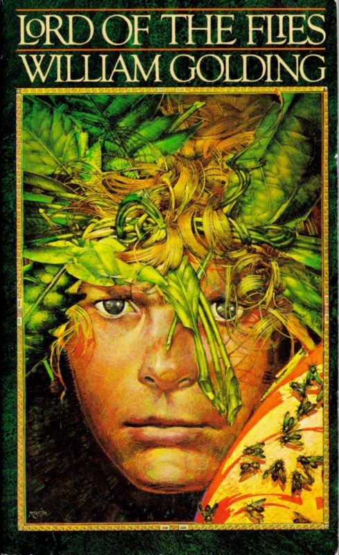 an analysis of fear in lord of the flies a novel by william golding