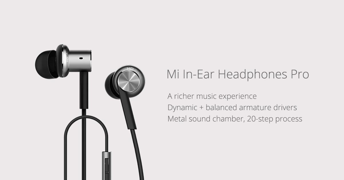 Xiaomi Hybrid Earphones Pro