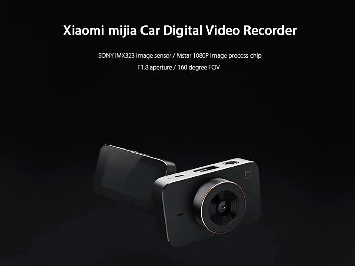 GearBest: Xiaomi mijia Car DVR Camera