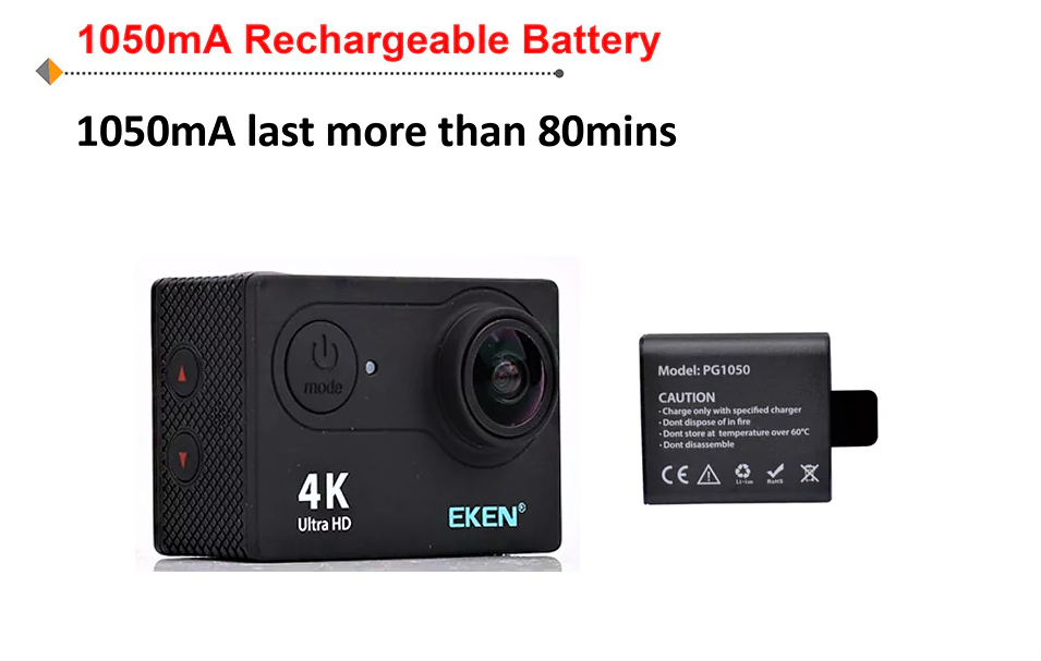 4K Action Camera Ultra HD - GearBest