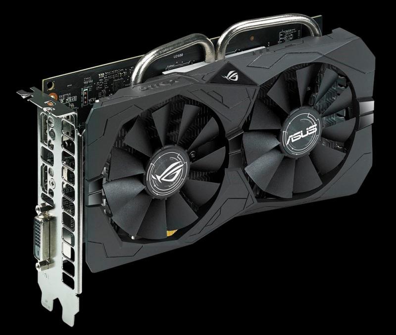 ASUS ROG Strix Radeon RX 560 EVO