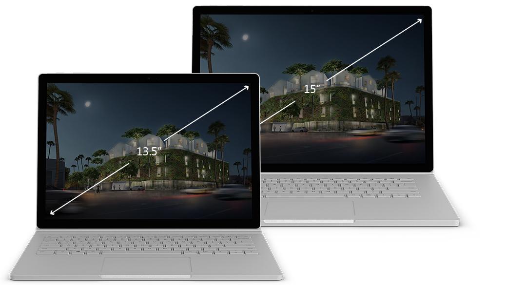 Microsoft Surface Book 2 (13.5 та 15)
