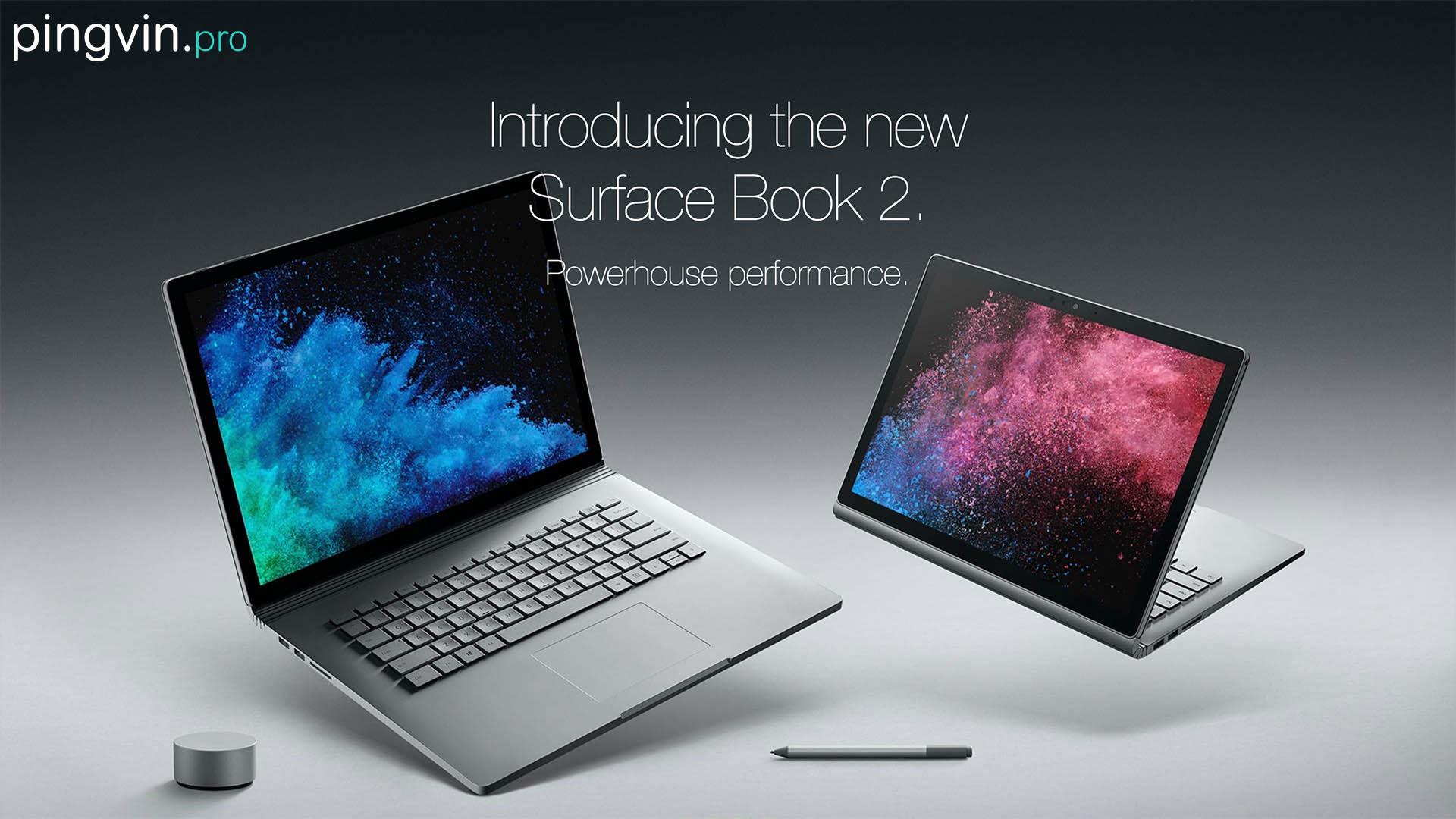 Microsoft заблокував оновлення Windows 10 на Surface Book 2