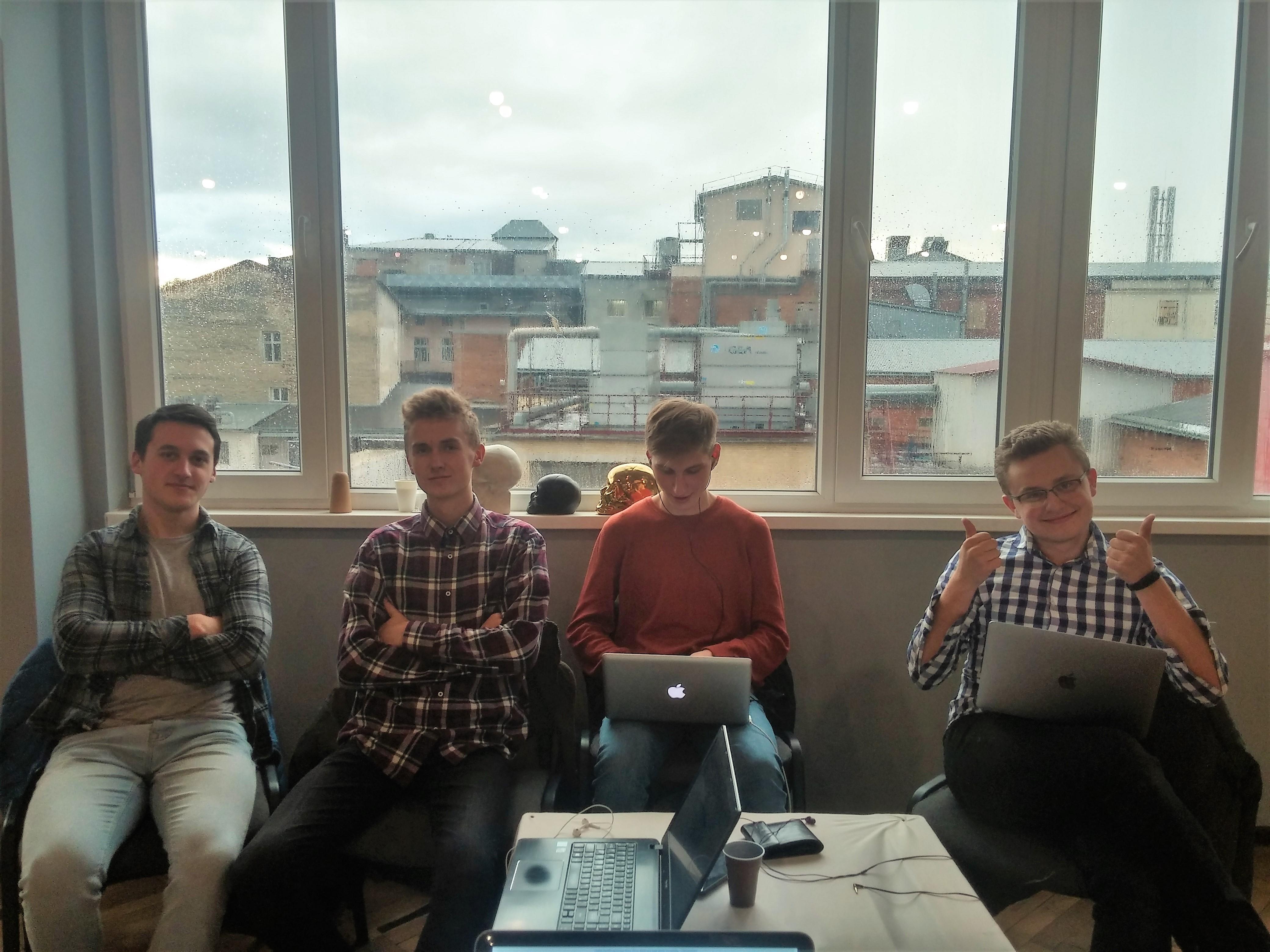 Команда розробників додатку CleanCity
