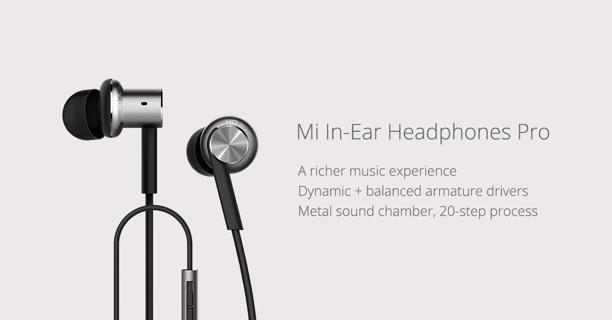 Xiaomi Hybrid Earphones Pro Mi Piston 4