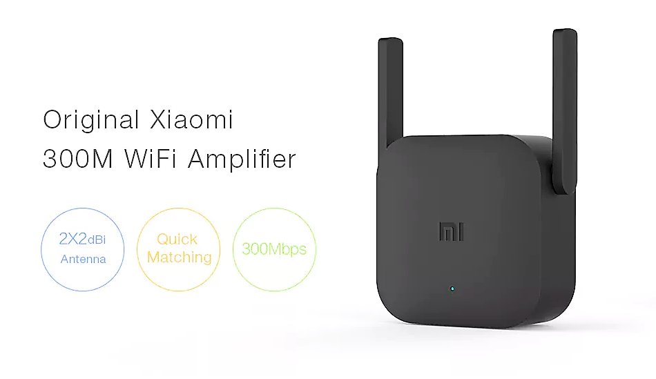 Xiaomi Pro 300M 2.4G WiFi Amplifier