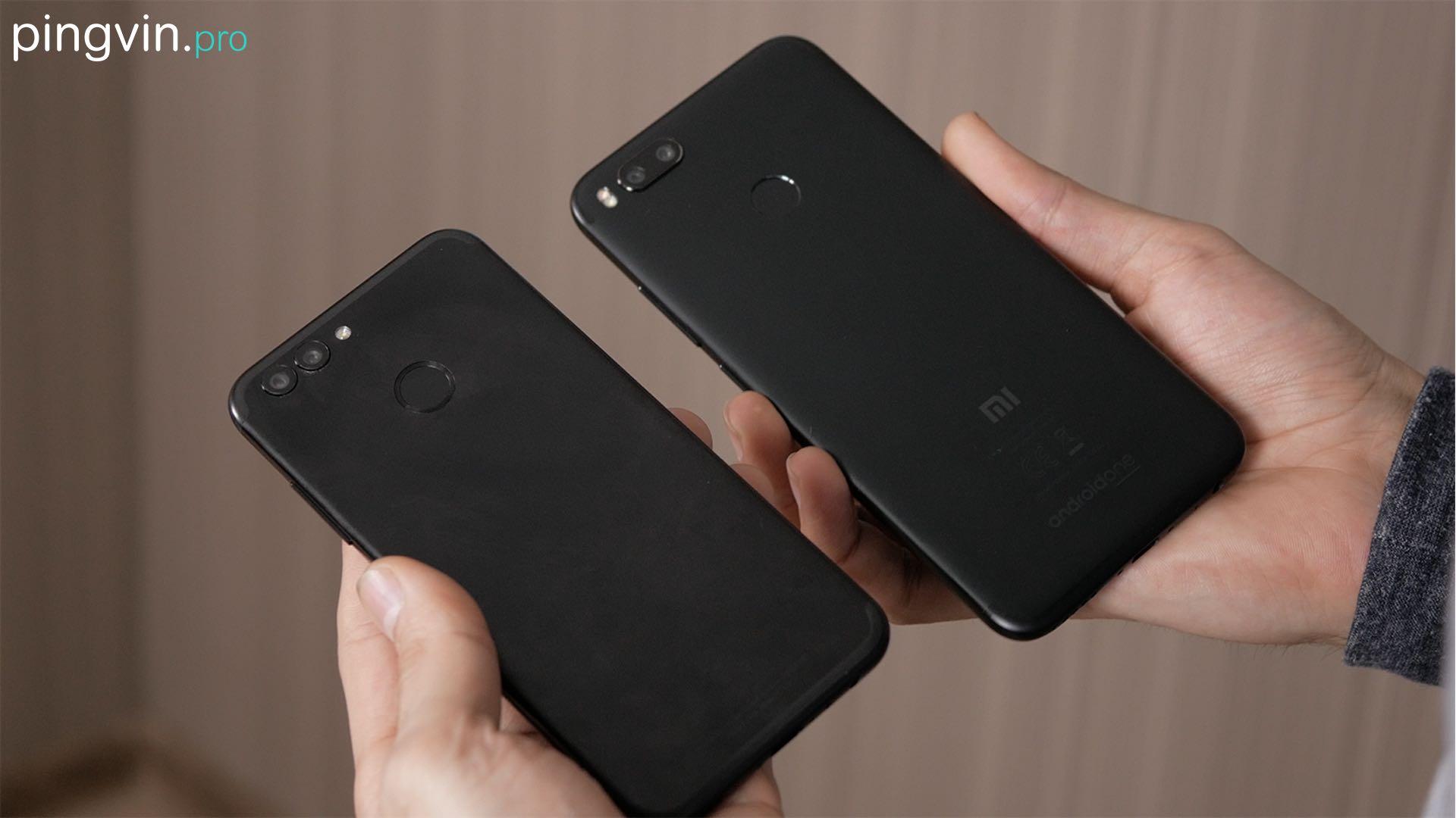 Xiaomi Mi A1 vs Huawei Nova 2