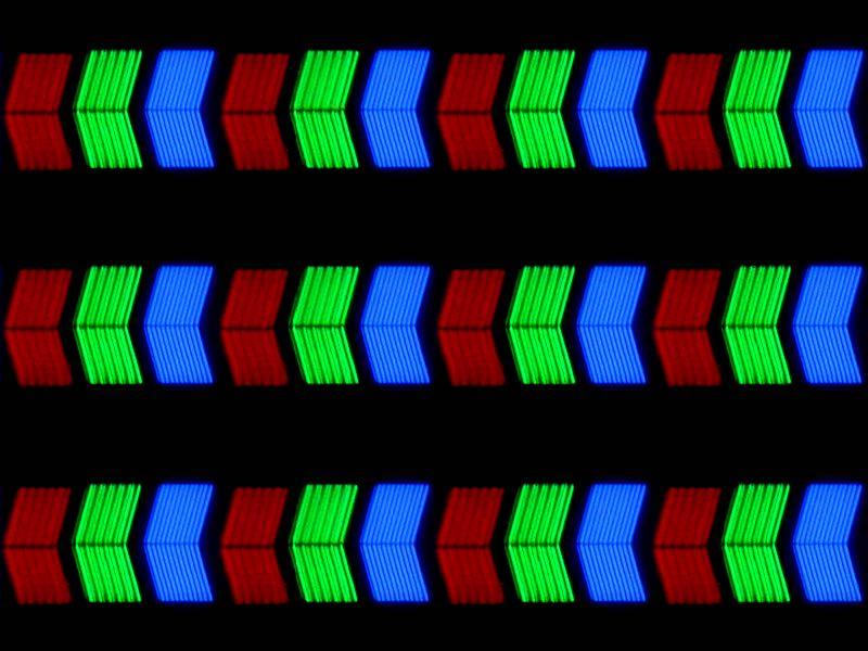 LCD - Пікселі