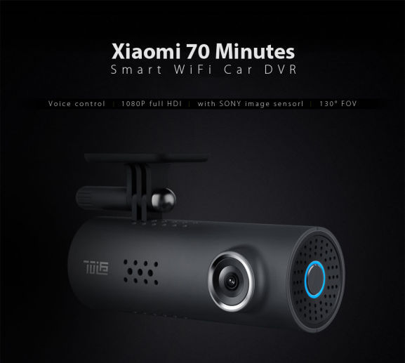Xiaomi 70 Minutes Smart WiFi Car DVR