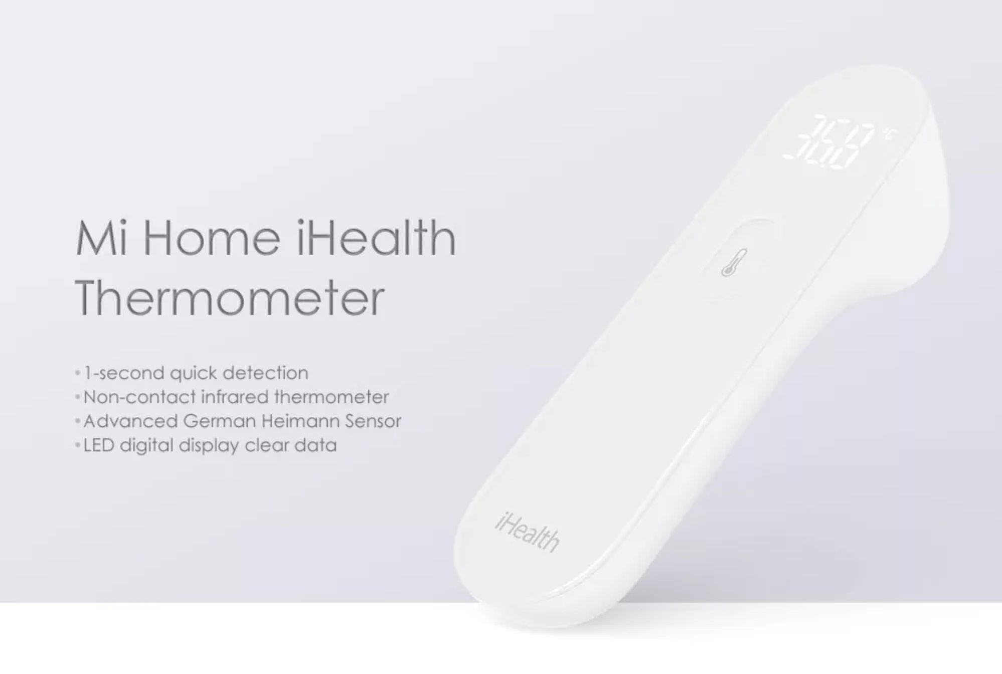 Gearbest: Xiaomi Mi Home iHealth Thermometer