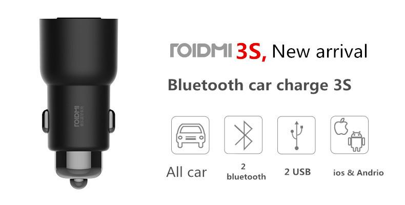 Xiaomi ROIDMI 3S Bluetooth Car Charger
