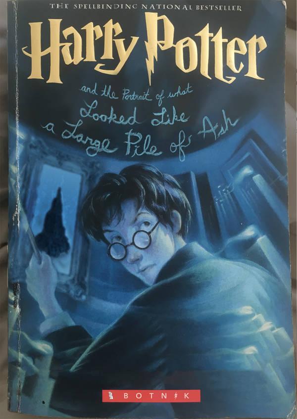 Гаррі Поттер та портрет того, що виглядало як велика купка попелу