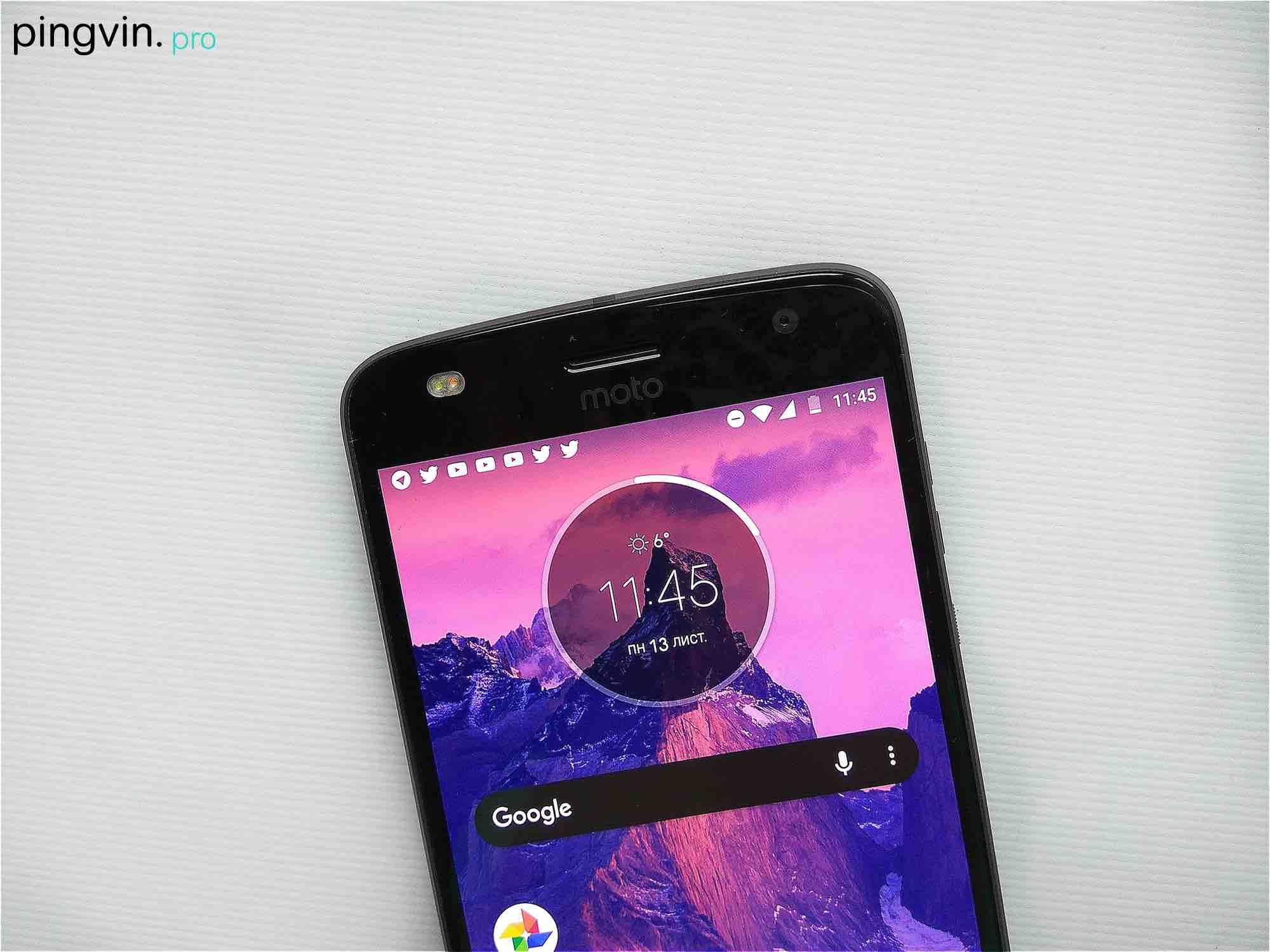 Motorola Moto Z2 Play - Камера - фронтальна