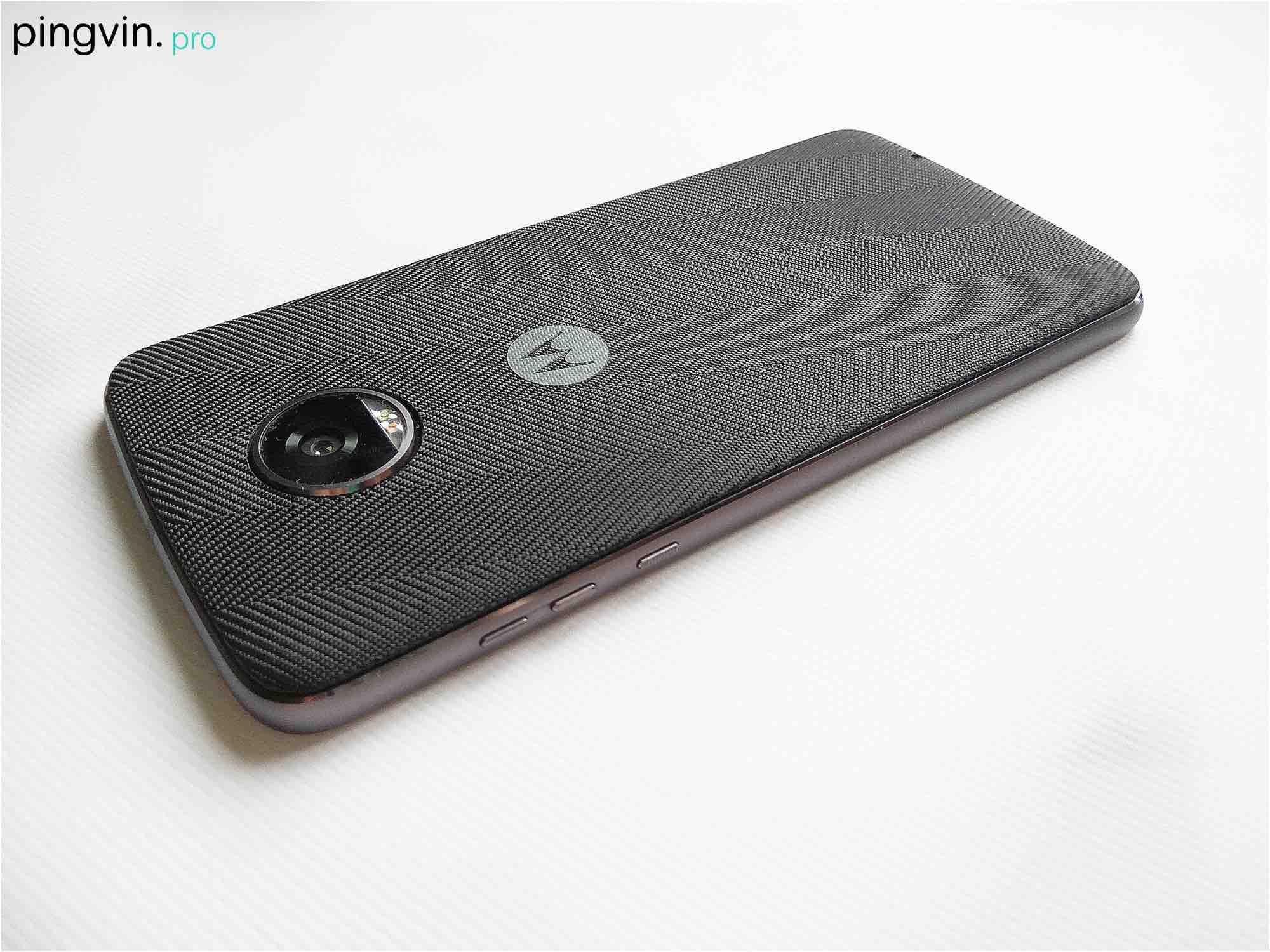 Motorola Moto Z2 Play - Кнопки
