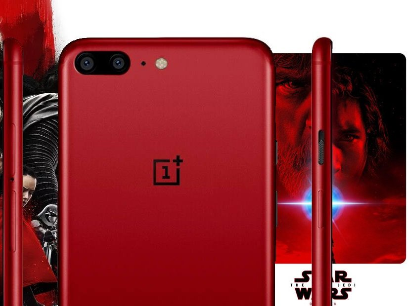 Gearbest: OnePlus 5T (Red)