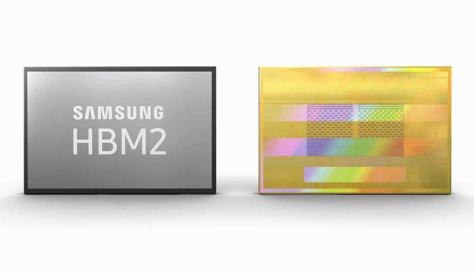 Samsung Electronics HBM2 Aquabolt
