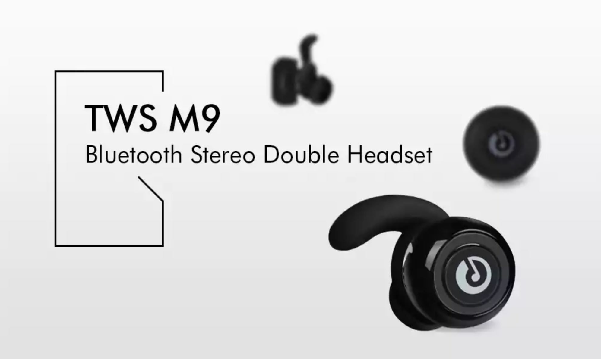 GearBest: TWS M9 Bluetooth Stereo Headset