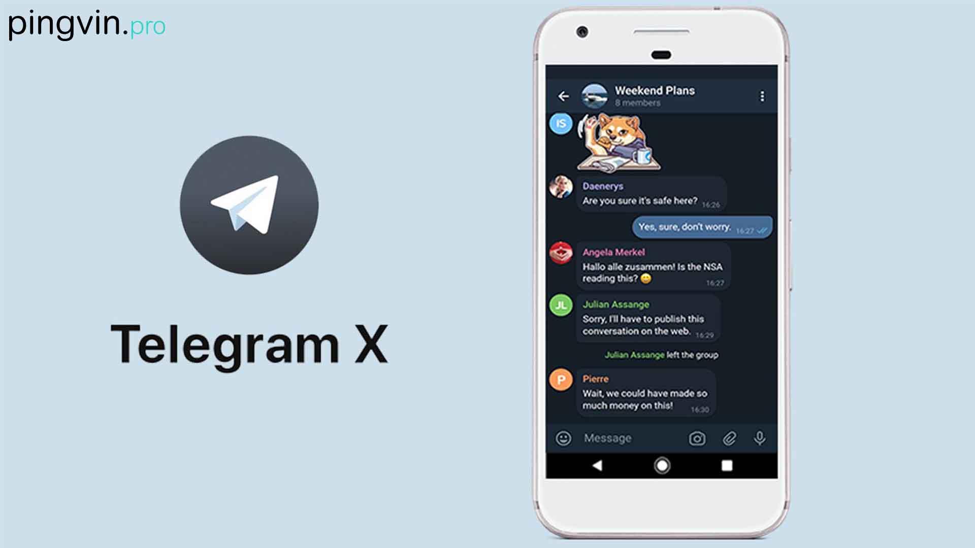 Telegram X для Android отримав велике оновлення