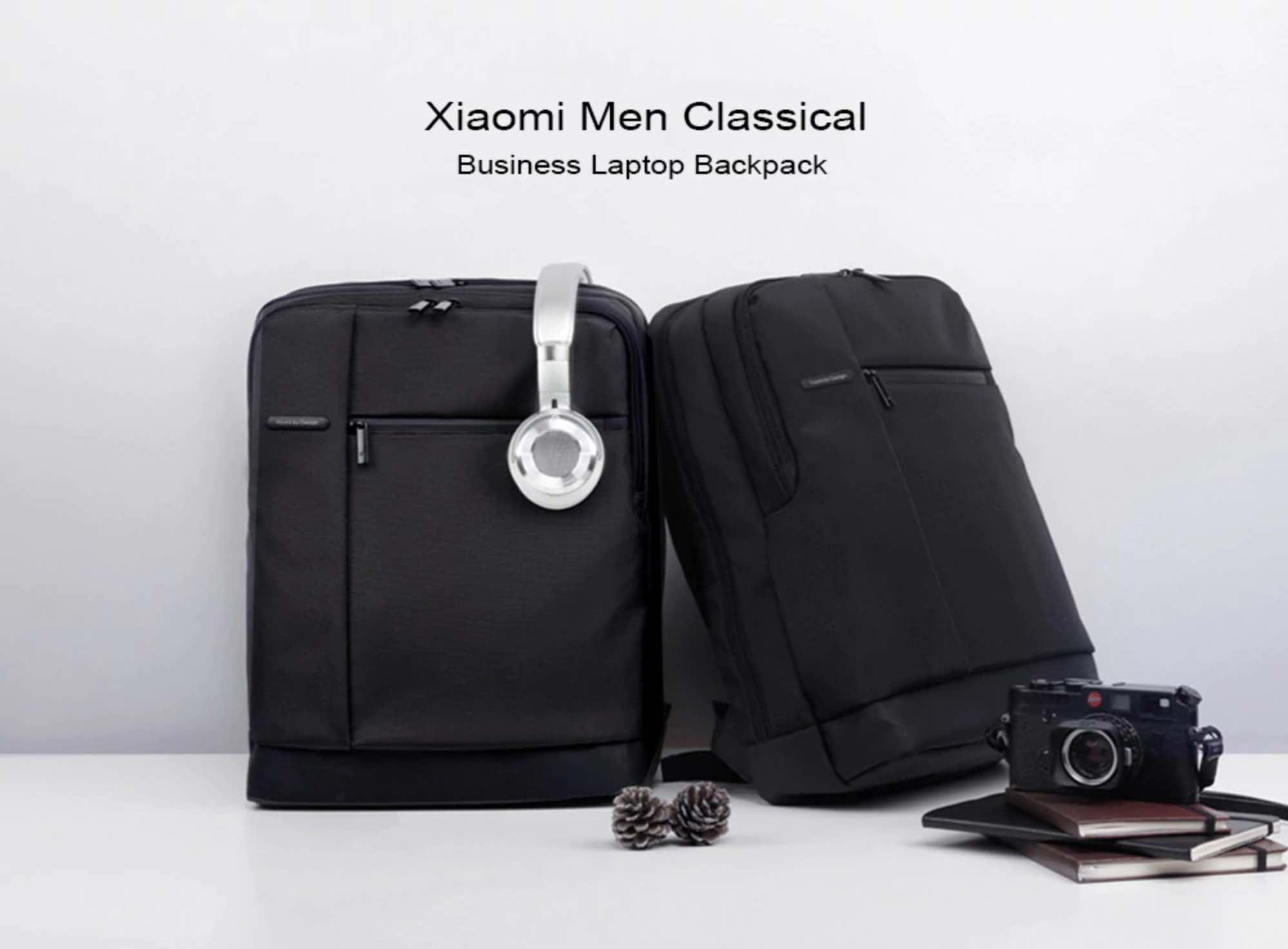 GearBest: Xiaomi Men Classical Business Laptop Backpack