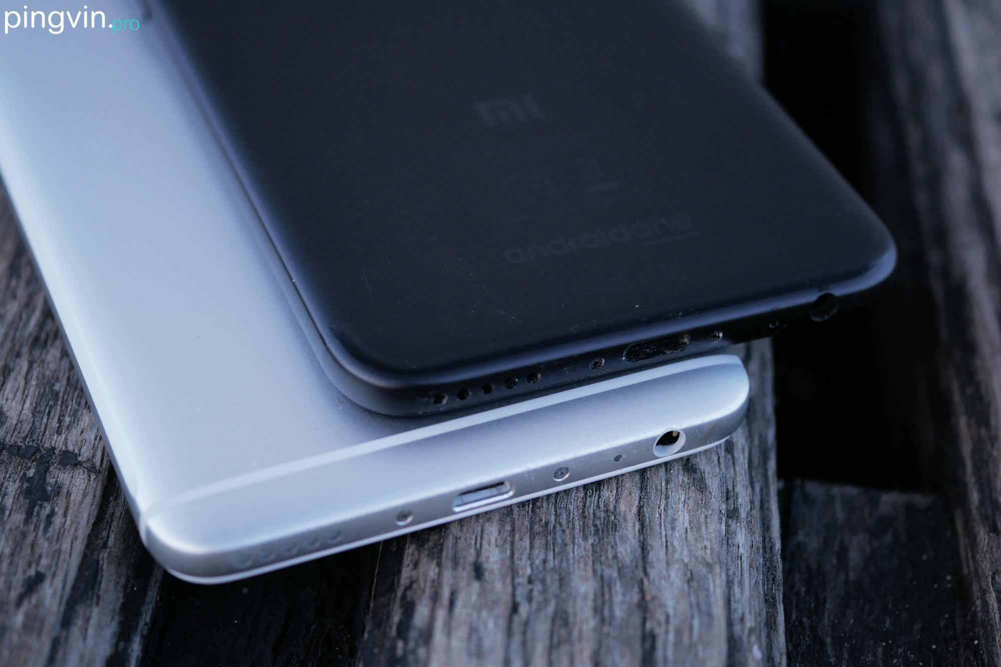 Xiaomi Mi A1 vs Meizu M6 Note