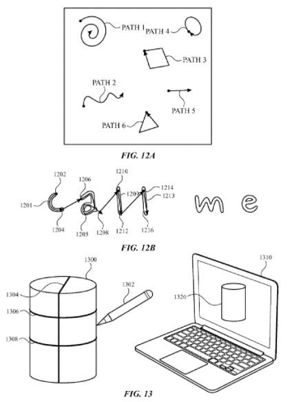 Новий патент стилуса від Apple