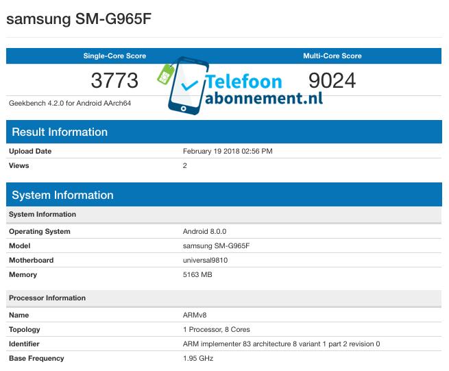 Samsung Galaxy S9 / Galaxy S9 Plus