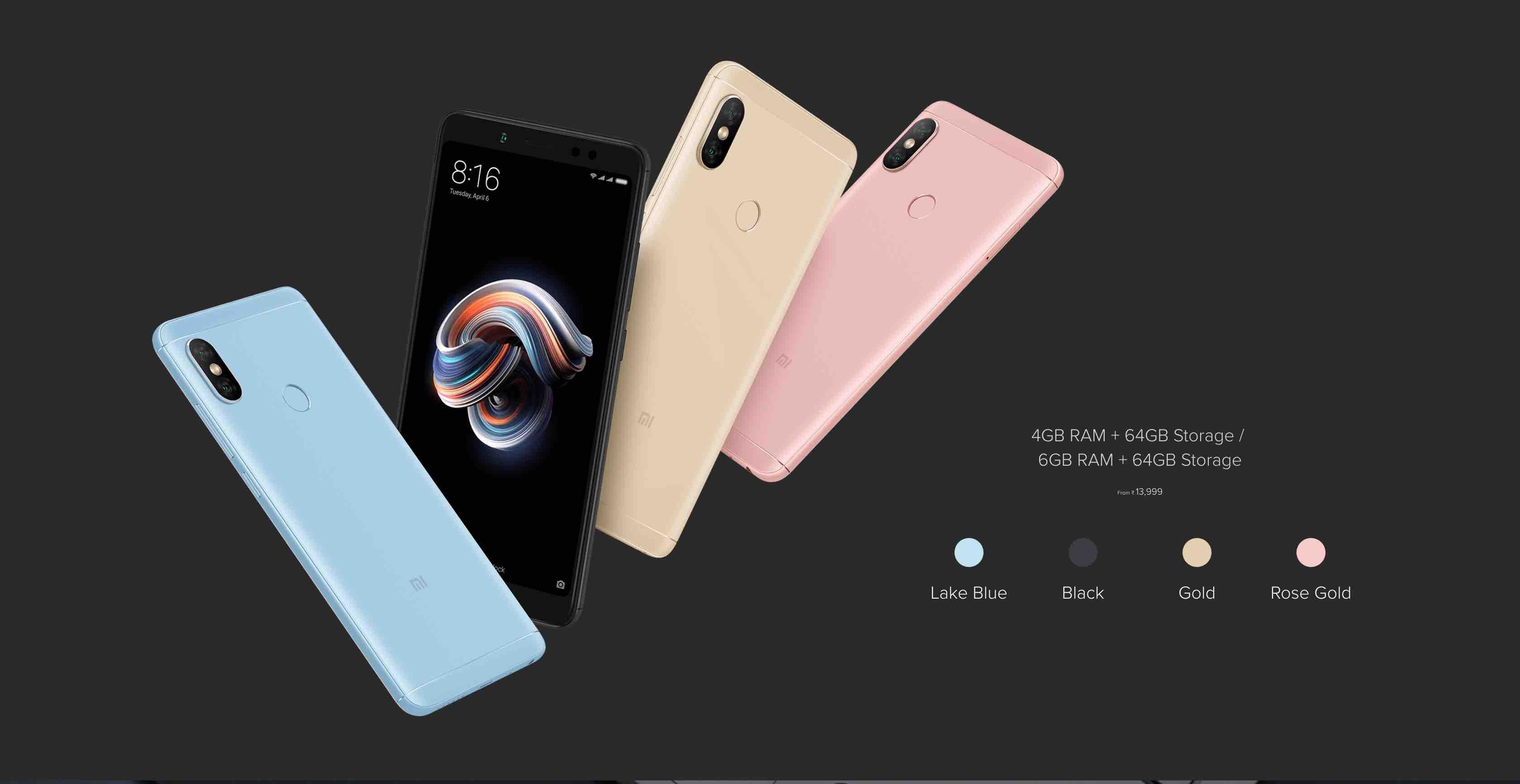 GearBest: Xiaomi Redmi Note 5 Pro