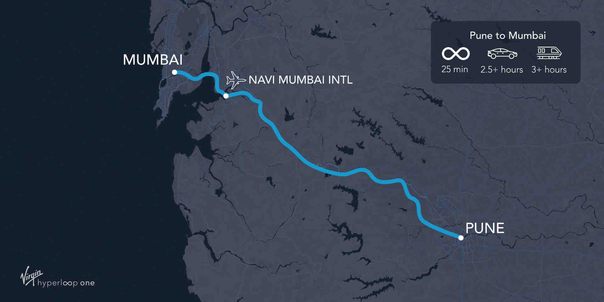 Проект Virgin Hyperloop в Індії