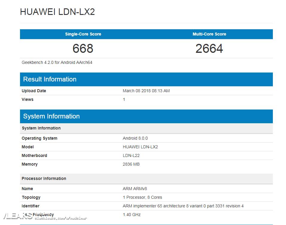 HuaweiY7 Pro