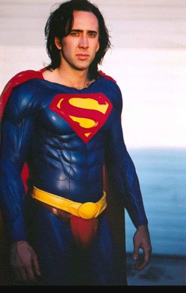 Ніколас Кейдж — новий Супермен