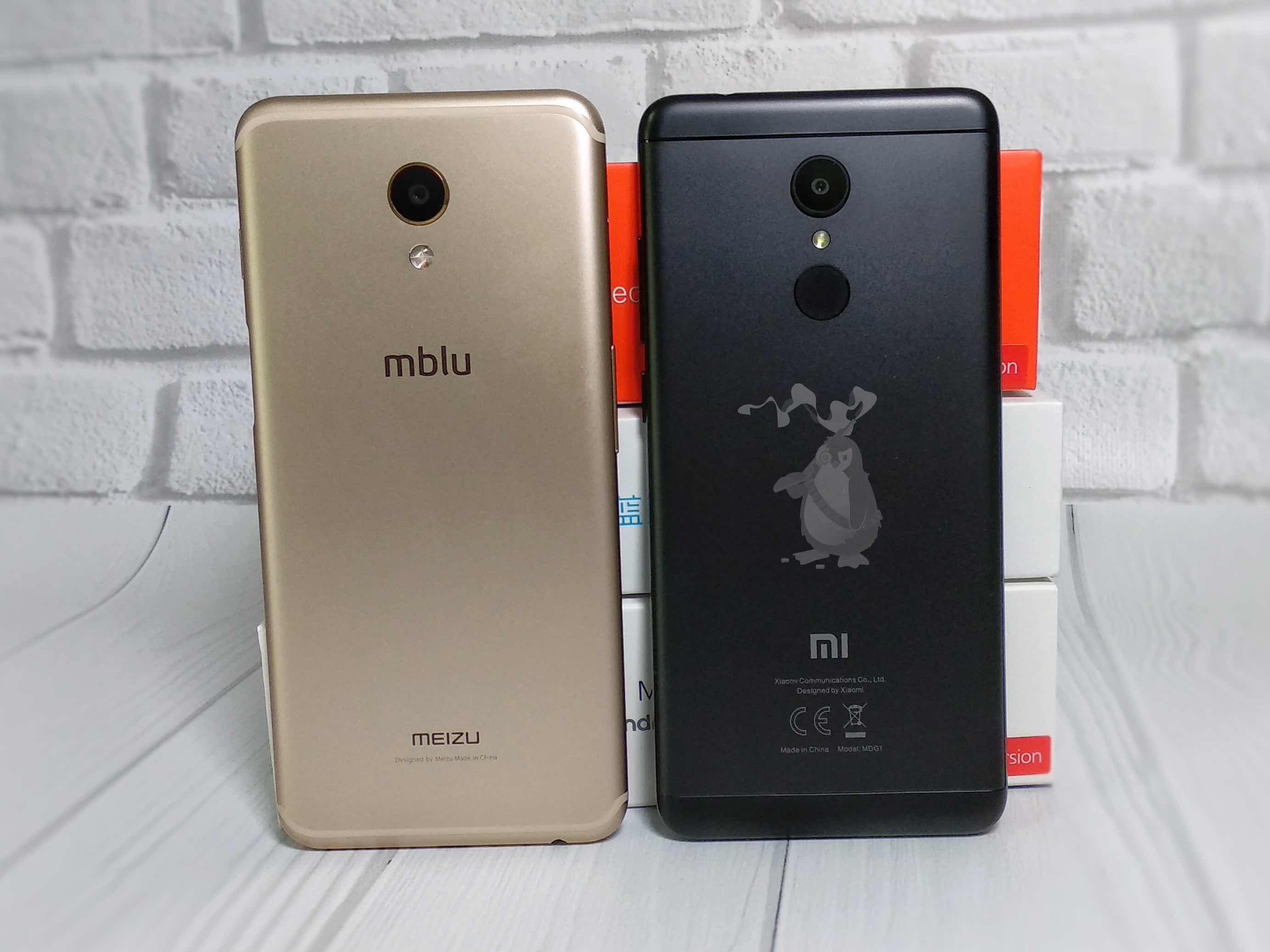 Xiaomi Redmi 5 vs Meizu M6s