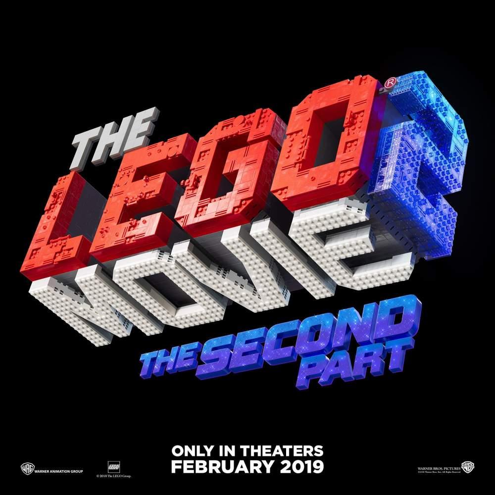 Логотип і офіційна назва сиквела анімації «Lego фільм»