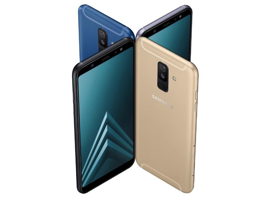 Samsung Galaxy A6 та Galaxy A6+